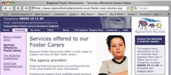 Regional Foster Placements